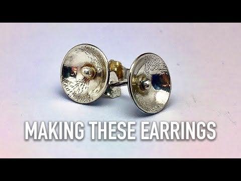 CybuV Fk99EvGADN7akjggABqQ3c3xgYbYo5SpJGOHM - Making Silver Stud Earrings - hobbies, crafts