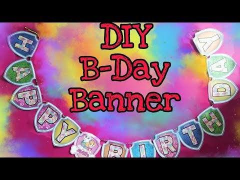 HjDquesMmShM7RTZbJcxzJv B Vo fg1s7n4yyVX8gE - Diy birthday banner - hobbies, crafts