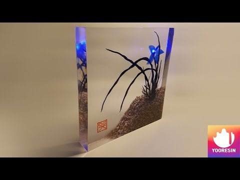 x5BR0AmZE3pdEJSDx7DgcTyMAfVu4wsObyyG9HZl5o - DIY Resin Art 3D Ink Painting Orchid Mood Lamp - hobbies, crafts