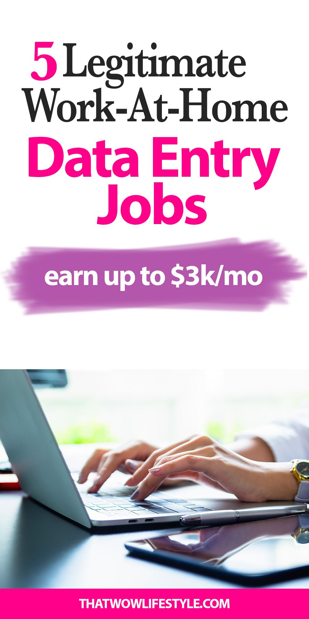 d952f552a037db7521c9a7ff9f81c90b - 5 Legitimate Work At Home Data Entry Jobs - work-from-home