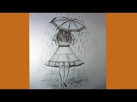 r93Ogc9169o63sEG9Dlj4Jx8xMZiOR7Bi Jgc7ruW3A - How to draw a girl with umbrella - home, hobbies