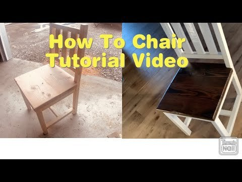 89843gI6BfZezJjlKlPimvRULrgJo5f pyC DofuDFY - To keep me bushy during all the craziness going on I made an instructional how to video for making a simple wood chair! - home, hobbies