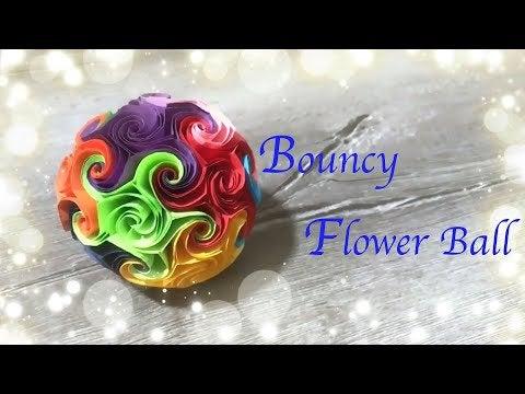 PzPOaiReV r BqIUoOU8RdbWv43FwDeK8XMONAYy0Cs - Paper Craft | How to make a Bouncy Flower B... - hobbies, crafts