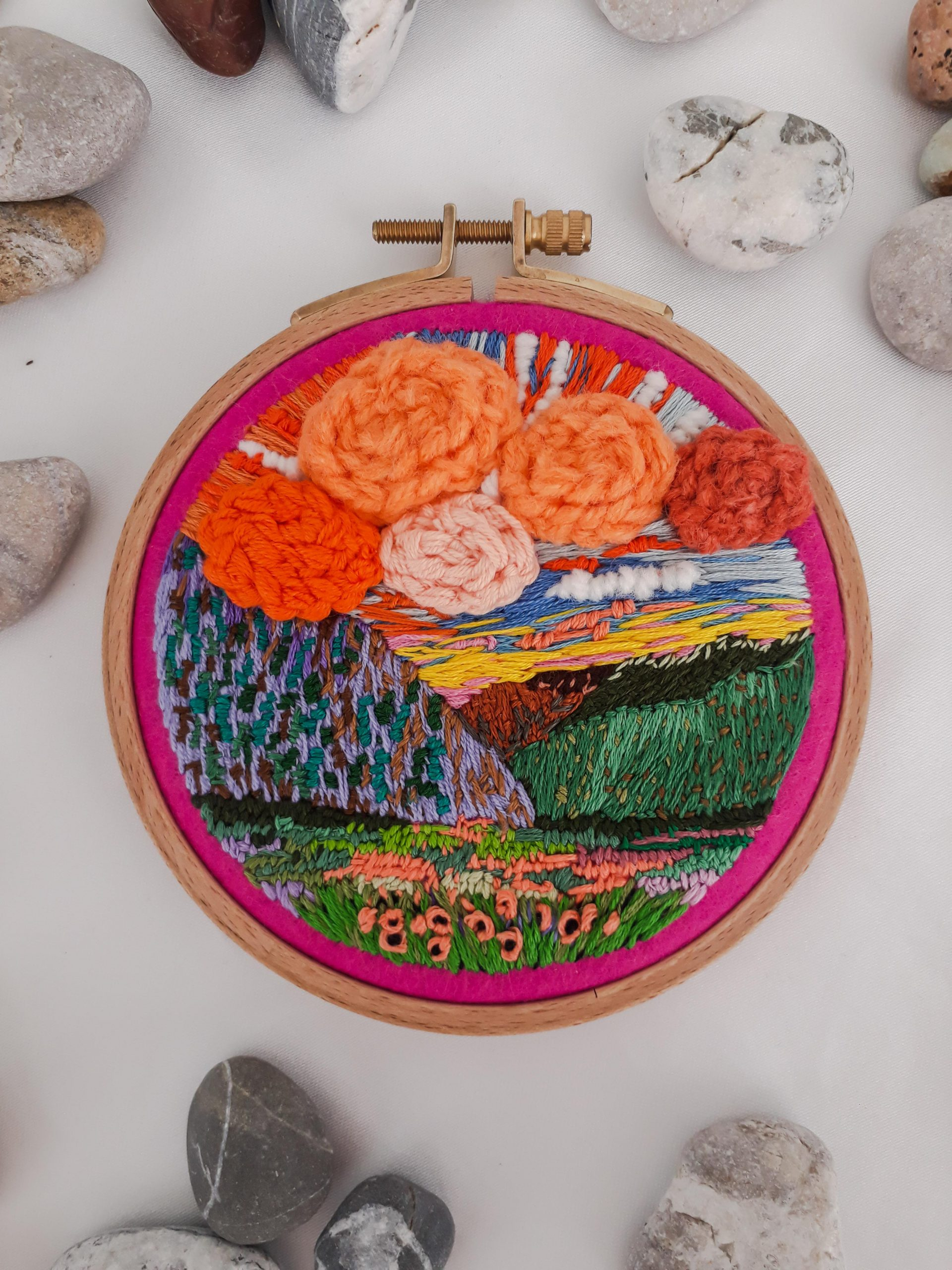 acubccns22061 scaled - I combined embroidery with knitting. How is it ? - hobbies, crafts