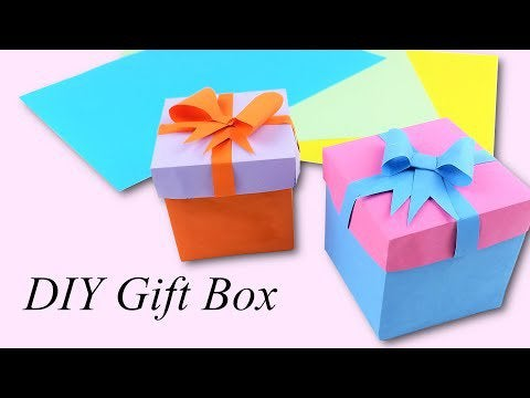 tLNOL2X8HsEQsYu2pzDTh mcTDCHvHKY uGso ZWf9Y - DIY gift box. How to make this cute gift box out of paper - hobbies, crafts