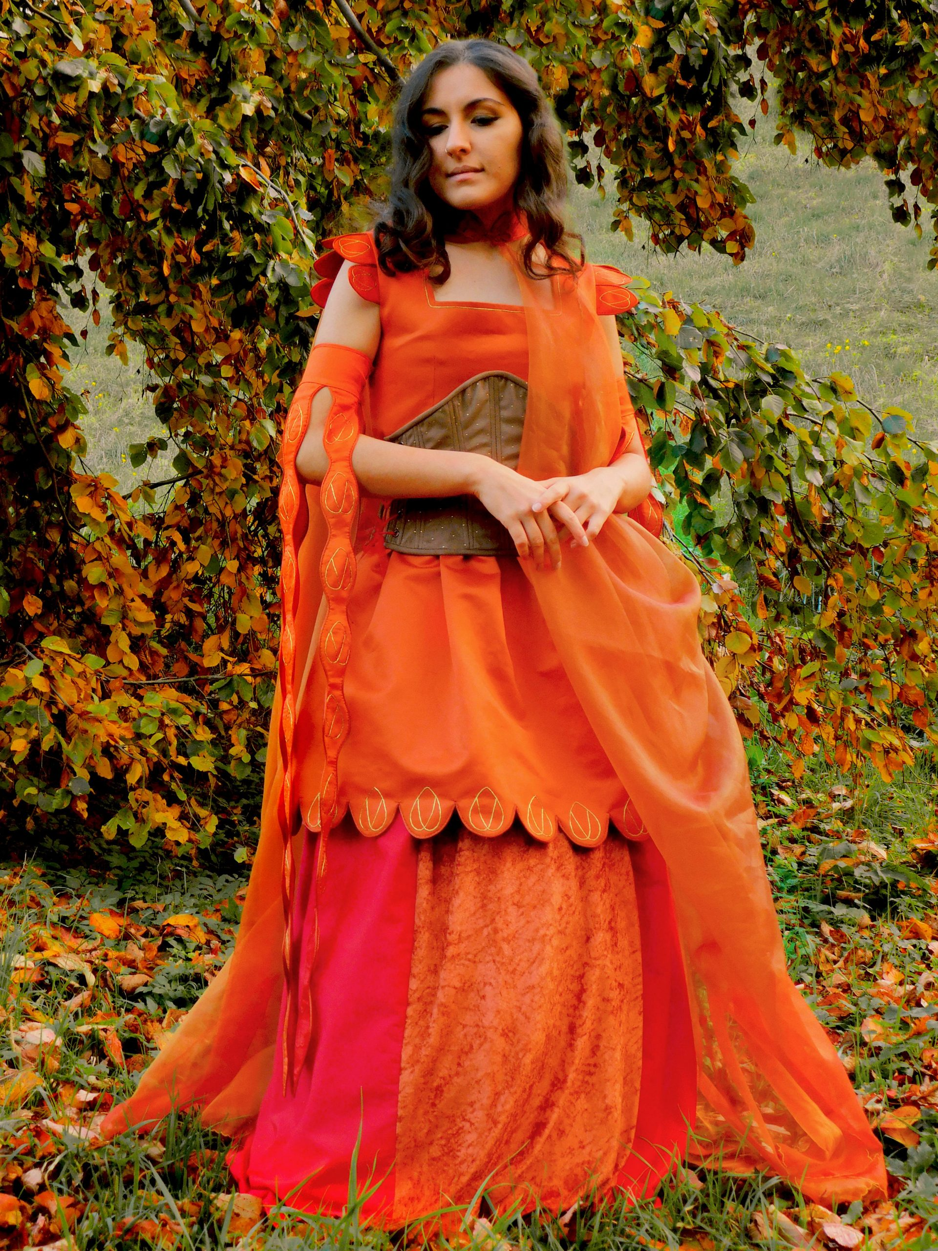 yhzgd8nlr7061 scaled - I made an Autumn inspired costume - hobbies, crafts