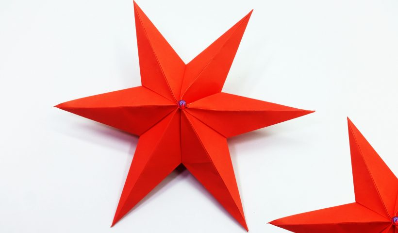 02donvlaoj361 820x480 - Paper Star For Christmas | DIY Christmas Decorations Ideas (Tutorial Link In Comment) - hobbies, crafts