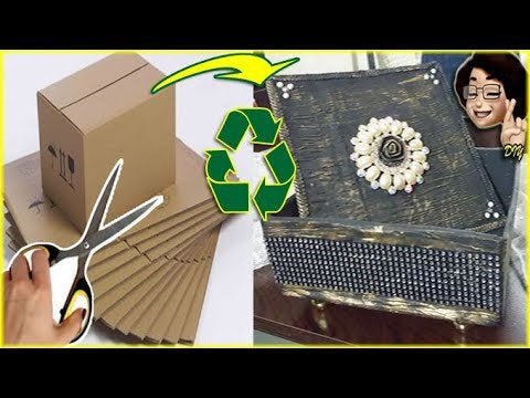 mUjQ3dpeEPMxn8dsF 478QuAmVqIsUhLgT0svue2Qg4 - Hello. Welcome to my workshop 🖐 Today I came to you with the jewelry box idea. Craft ideas with Paper and Cardboard you can do it yourself after this video 🤗🍀❤️ I hope it will be a useful video 🤗🍀❤️ - hobbies, crafts