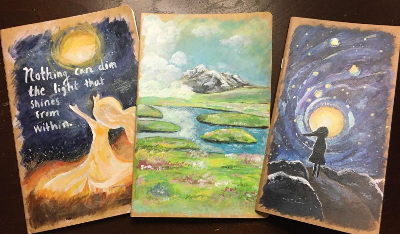 pvo850ghp3761 820x480 - Some painted notebooks I plan on gifting to friends :) - hobbies, crafts