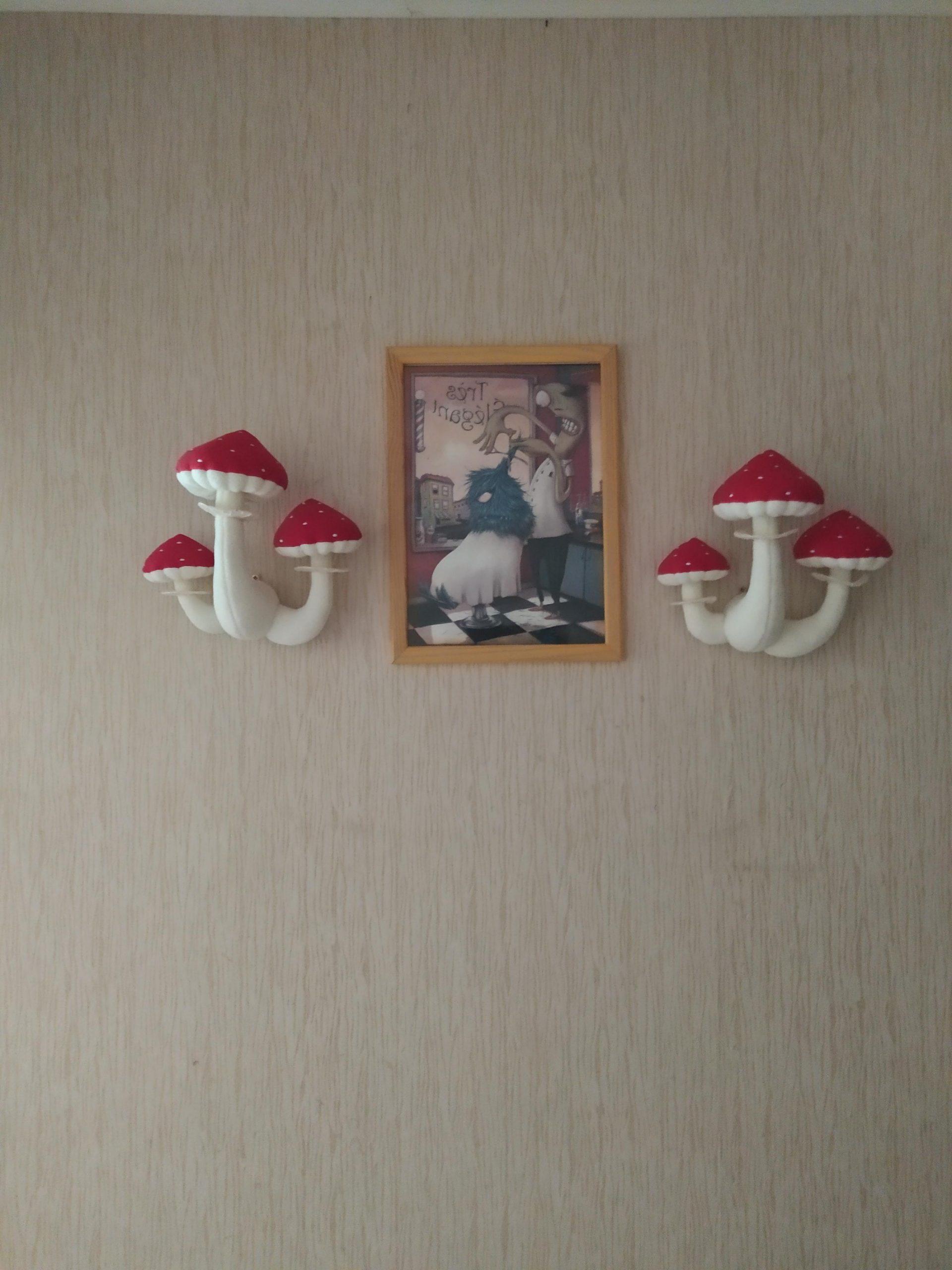 2irs42fy06b61 scaled - Mushrooms soft wall decor - hobbies, crafts