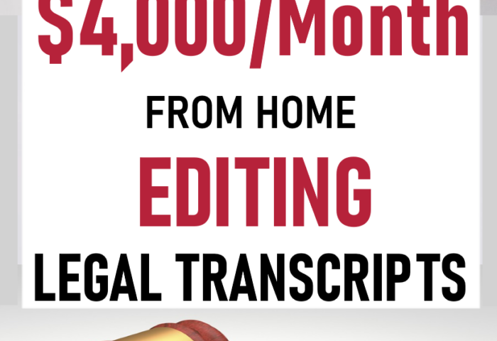 797547e9fea7c56b30ba40930cbf3a80 700x480 - Scoping - How to Make $30,000 to $50,000 a Year Editing Legal Transcripts - Work from Home Jobs, Online Jobs & Side Hustles - work-from-home
