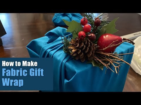 acjhHguMJJVlWhSVhbE6ReAOCKl9UOOjdOXgNg8cjb0 - Hi folks. Decided to go a little eco-friendly this year and use fabric gift wrap for Christmas! Super easy to make and it certainly classes up the tree! Check out my how-to, and happy holidays to all! - home, hobbies