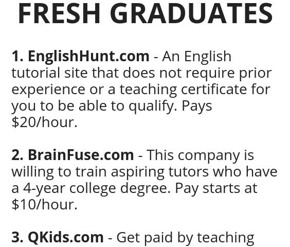 b4f782ba76672e7adbb383017ee8cfed 564x480 - 3 TUTORIAL JOBS PERFECT FOR FRESH GRADUATES - work-from-home