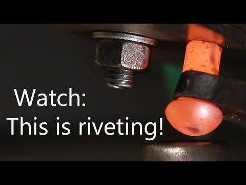 q6DC kMw2sLtjDnGKwQxx3loitr4tsrbIwIHDTvNPss - How to make hot riveting. - home, hobbies