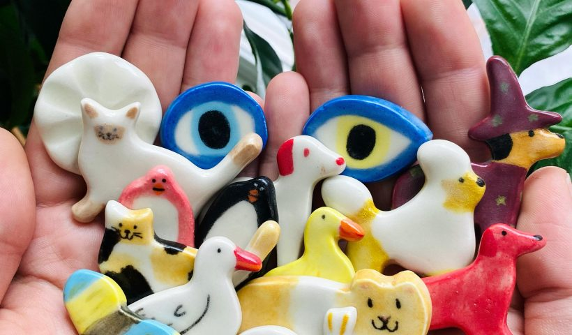 8uzbjlx4xfj61 820x480 - A handful of ceramic animals and things I made!! - hobbies, crafts