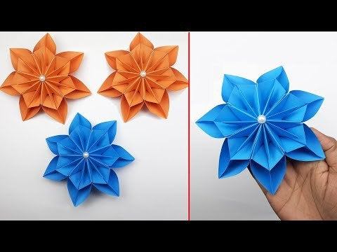 OJk62vAaqOs SeaHqJvurU20lI7PCdPvzjZN086X4Oo - How to Make Paper Things | DIY Paper Flowers | Paper Flower For Decoration | Easy Paper Crafts - hobbies, crafts