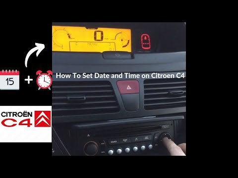 duN9pLHXJ8PoWe88tLTZy4Mtp83x9eO3BiBlXzc70iQ - How To Set the clock , time and date on Citroen C4 Picasso, easy guide with subtitles - home, hobbies
