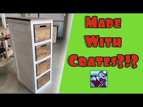 uCNLvIl1Fc r4R0 gFRk96OmKNjYoUQh5gWtYRLUMJ4 - How to make a Dresser with crates for drawers. You're welcome 😏 - home, hobbies