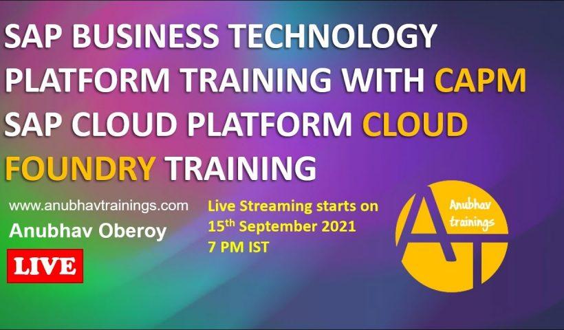 1614847523 maxresdefault 820x480 - SAP Business Technology Platform Training | Cloud Application Programming Model CAPM Training | CAPM - training, business
