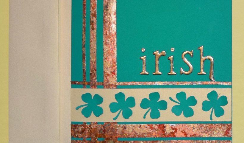 PaperPapersLuckyStPatricksDayCard01 1 820x480 - Lucky St. Patricks Day Card - Easy DIY - uncategorized, crafts, art
