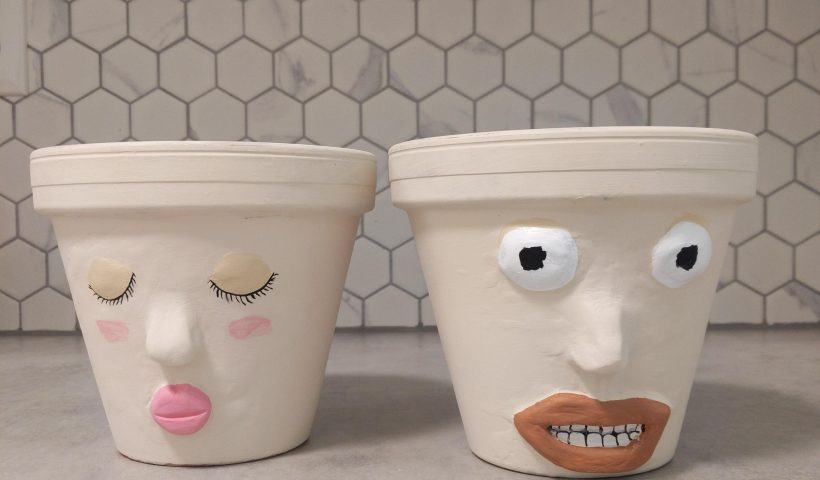 y2q2y1sd9qm61 820x480 - Painted some flower pots and I have so many mixed feelings. Thoughts? - hobbies, crafts
