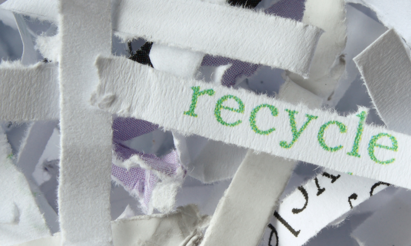 Go Green Be Seen 1 800x480 - Go Green and Be Seen - Recycled Paper Sends the Right Message - uncategorized