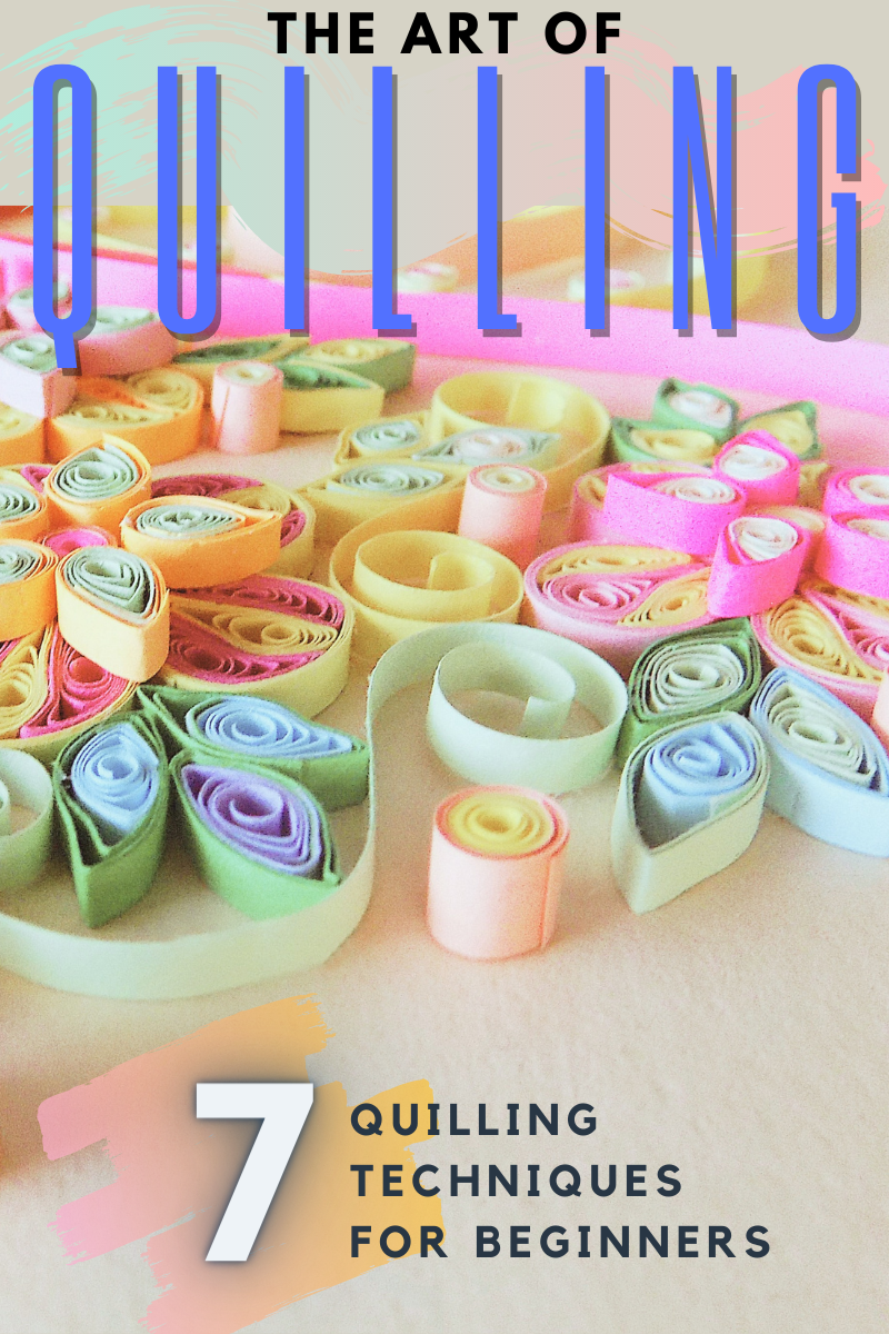 THEARTOFQUILLING - The art of quilling, for beginners! 7 Easy paper rolling techniques - paper, how-to, art